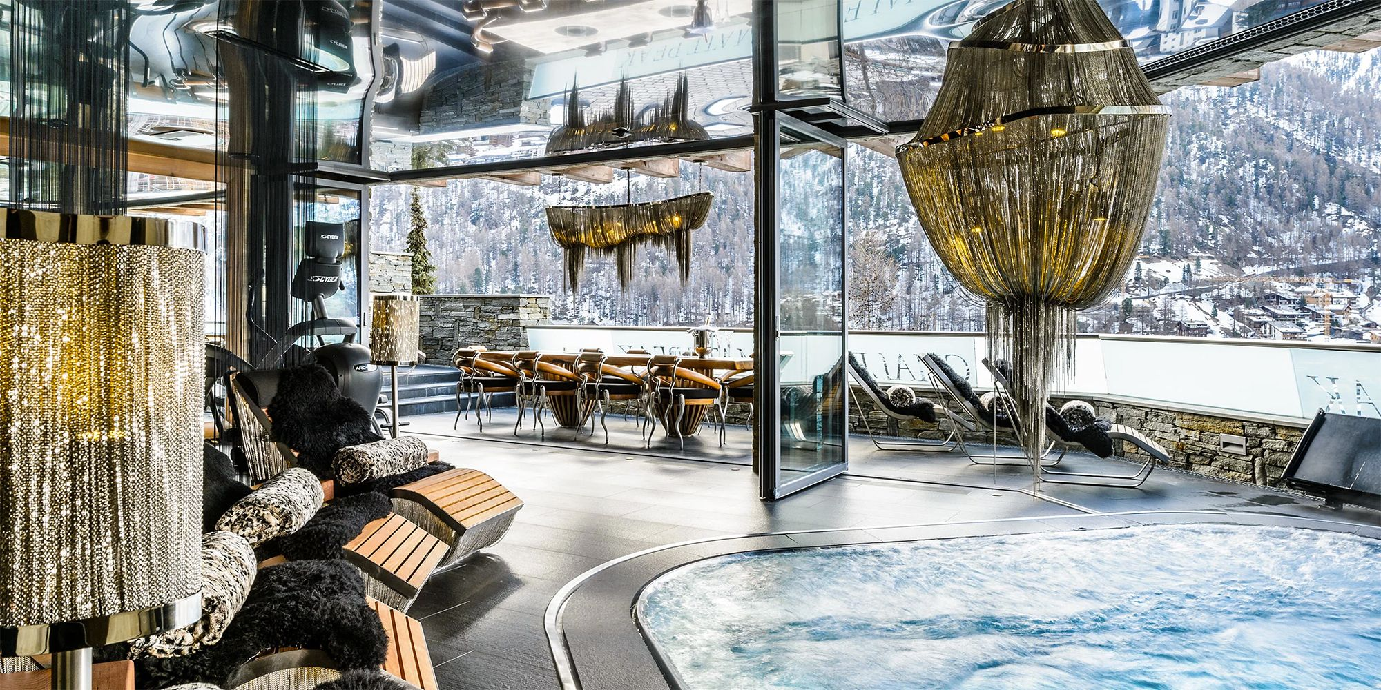 Canapé Style Chalet 10 Luxury Ski Chalets That Will Make You Buy A Lottery Ticket