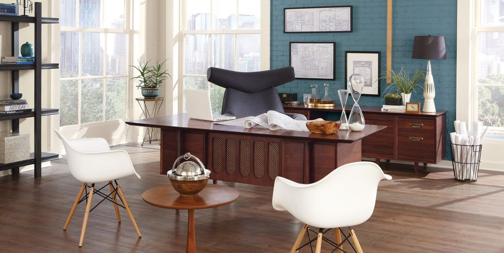 15 Best Office Paint Colors - Top Color Schemes for Home Offices