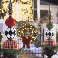 13 Outdoor Christmas Decoration Ideas - Stylish Outside ...