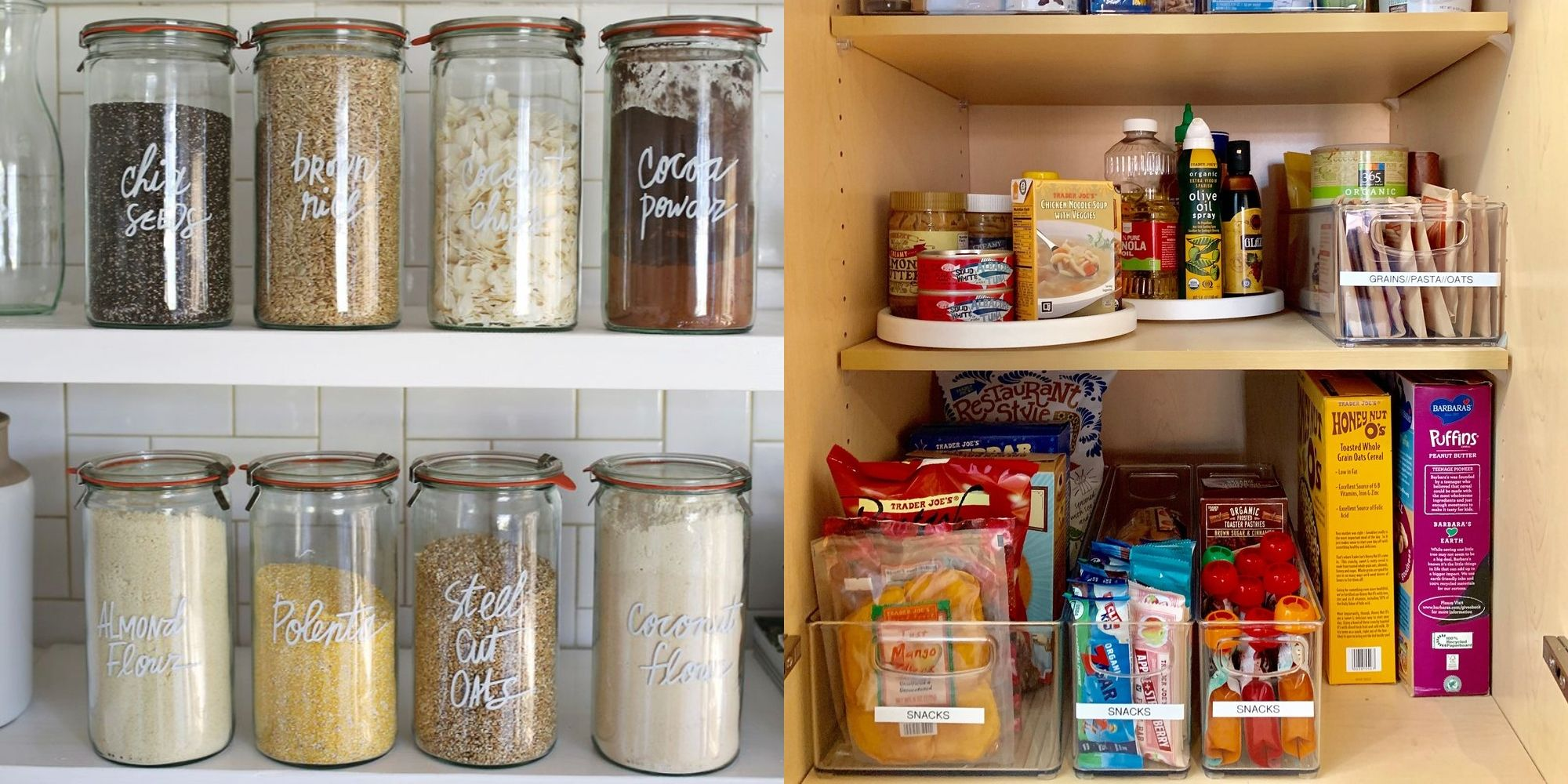Pantry Organization 20 Kitchen Pantry Organization Ideas How To Organize A Pantry