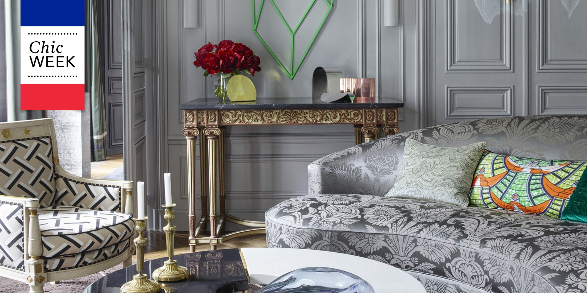 Meuble Tv Made In Design 20 Of The Most Stylish Rooms In Paris French Style Homes