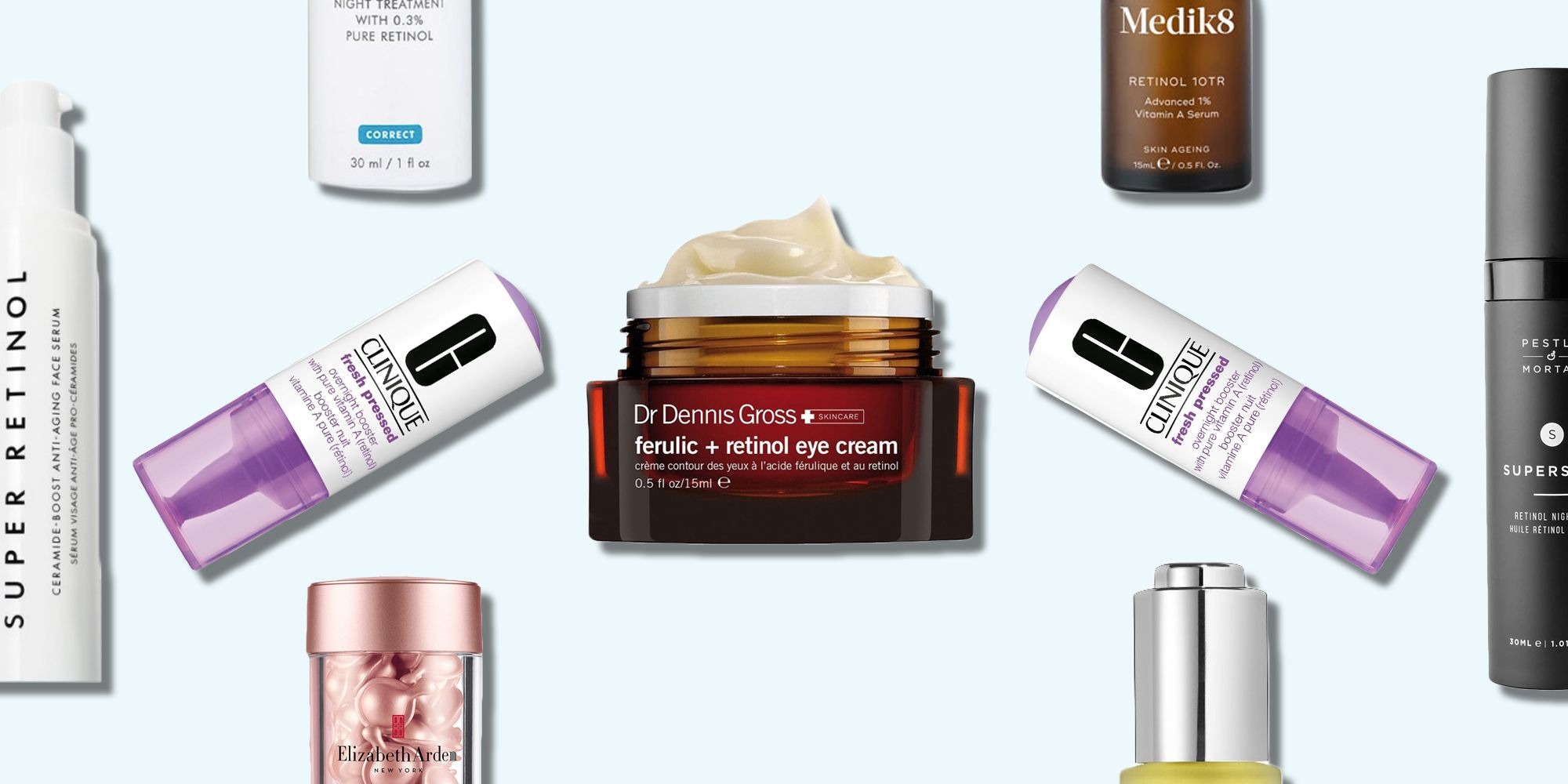 Best Skin Care Cream 12 Best Retinol Creams And Products Top Retinol Oil Serum And