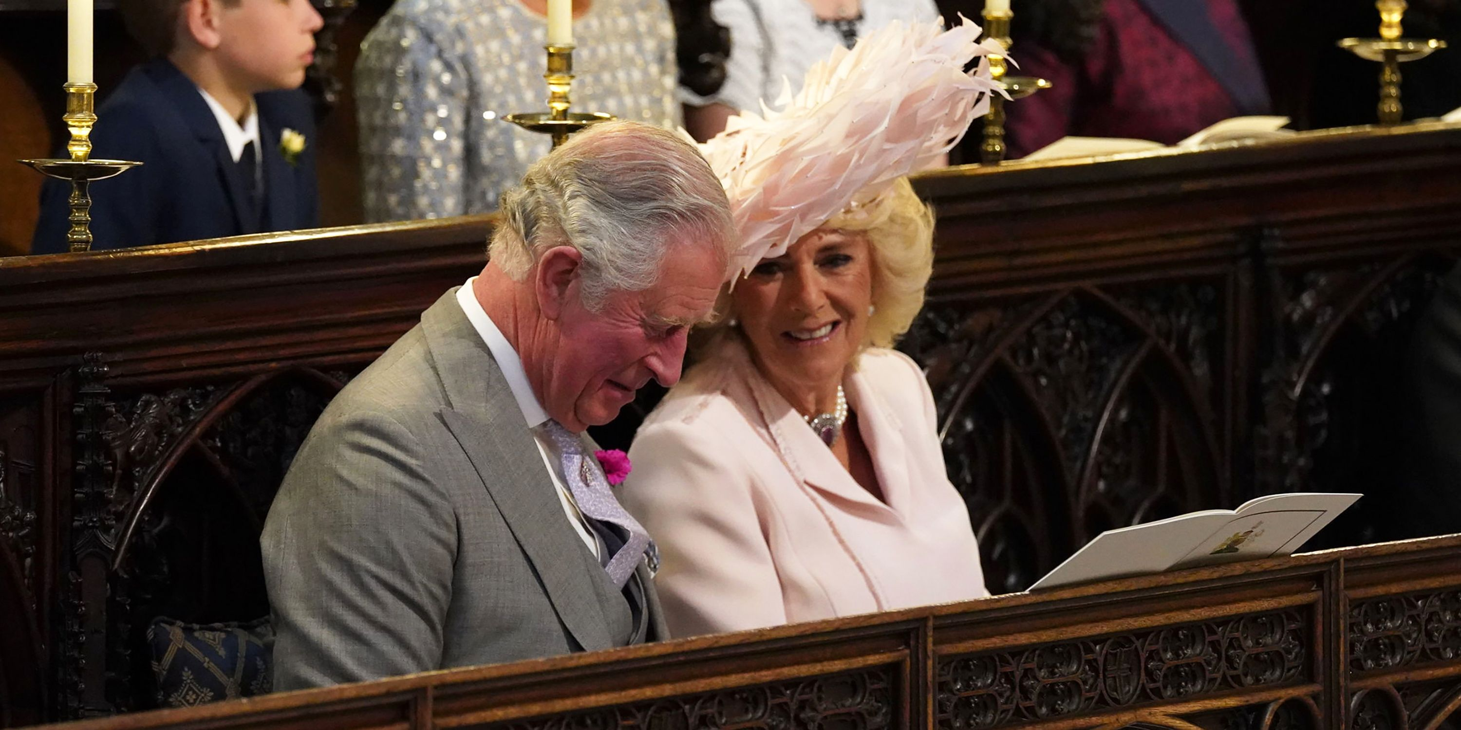 Queen Elizabeth Hochzeit Camilla Parker Bowles Royal Wedding Outfit What Camilla Wore To