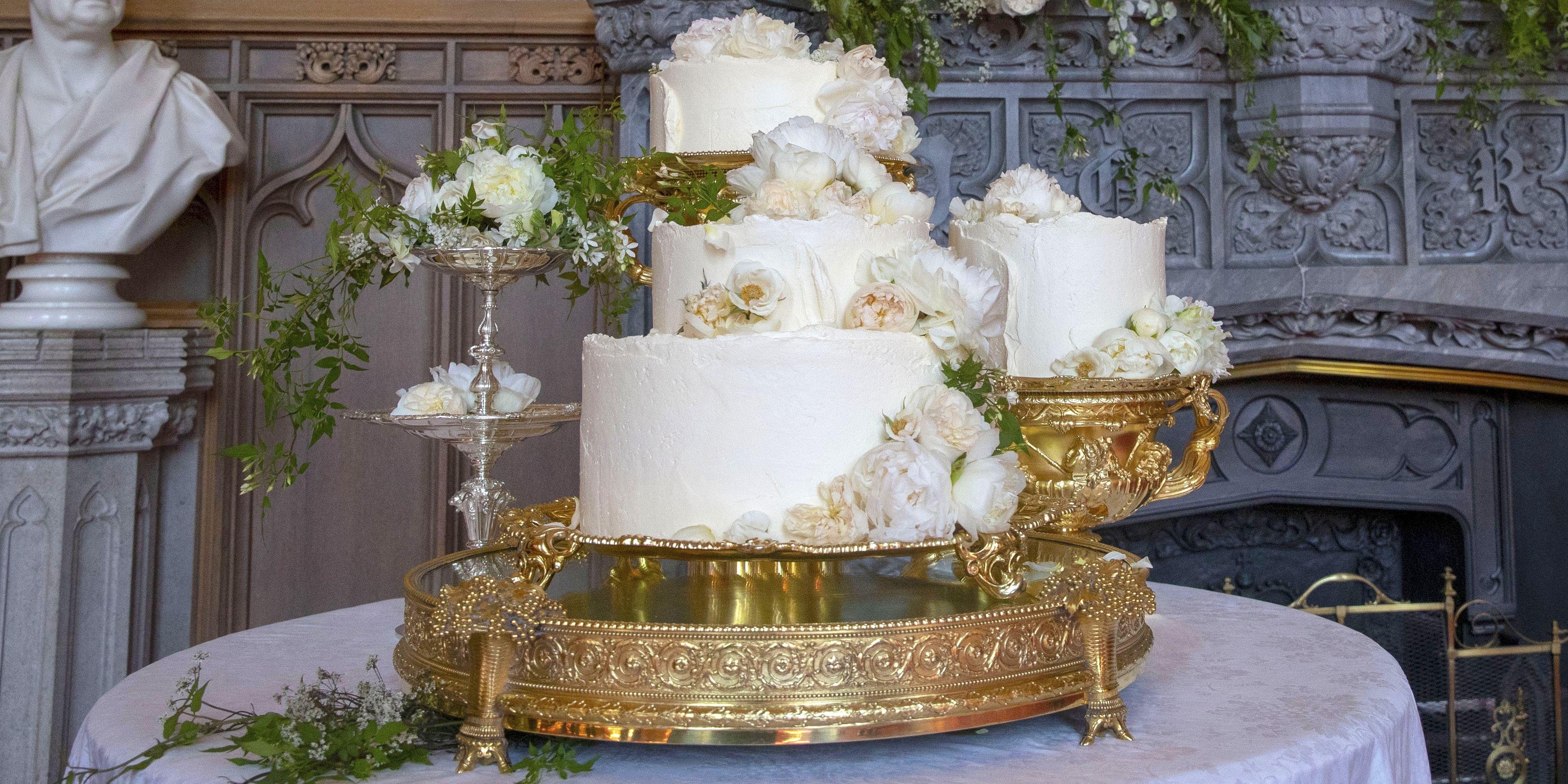 Prince Harry and Meghan Markle Wedding Cake - Who Is ...