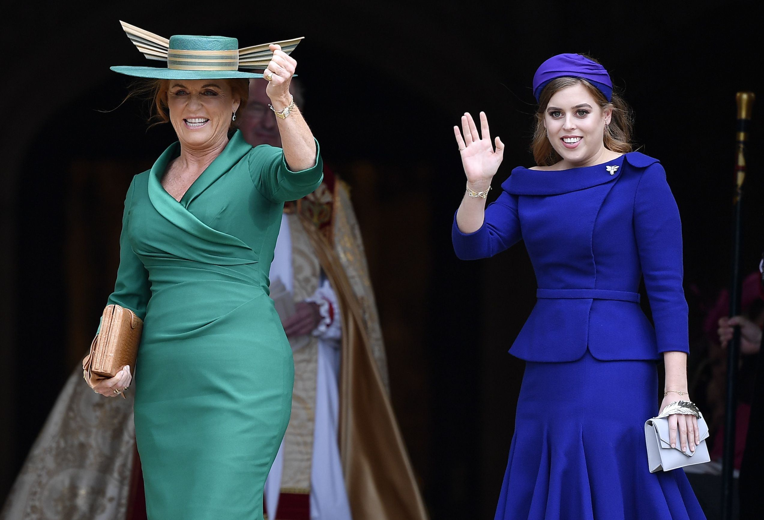 Queen Elizabeth Hochzeit How Princess Eugenie S Wedding Proves Sarah Ferguson Is Back In