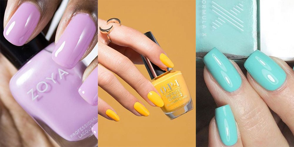 8 Best Spring Nail Colors For 2018 Coolest Spring Nail