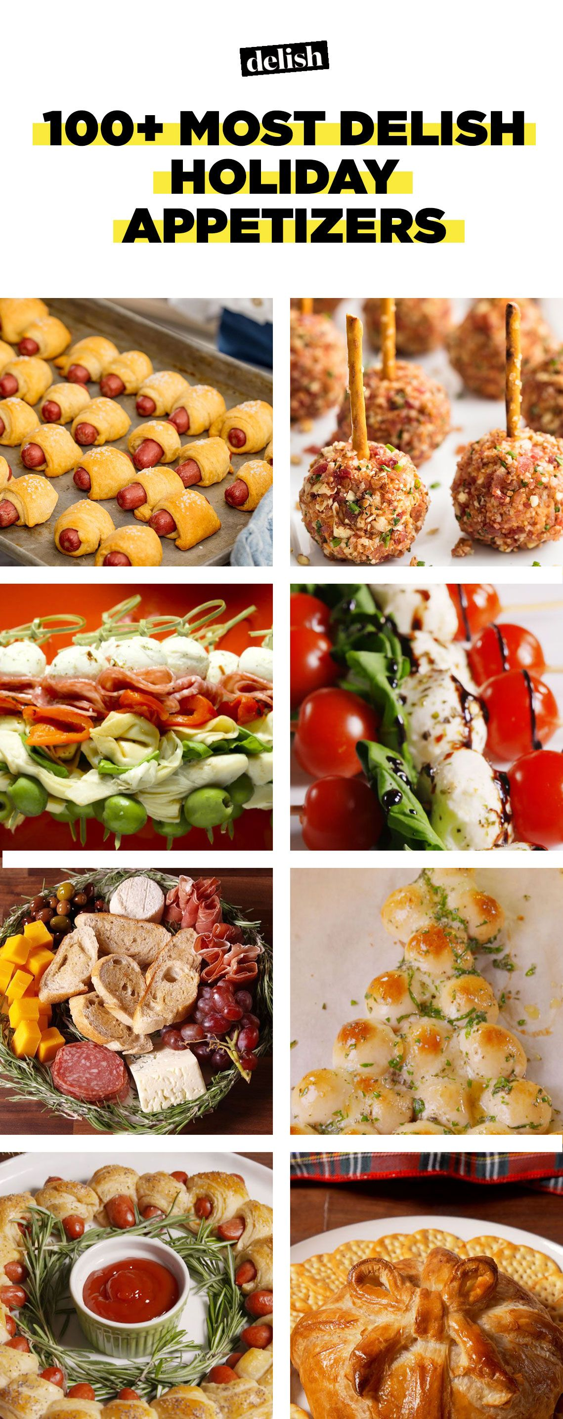 100+ Holiday Party Appetizers—Delish.com