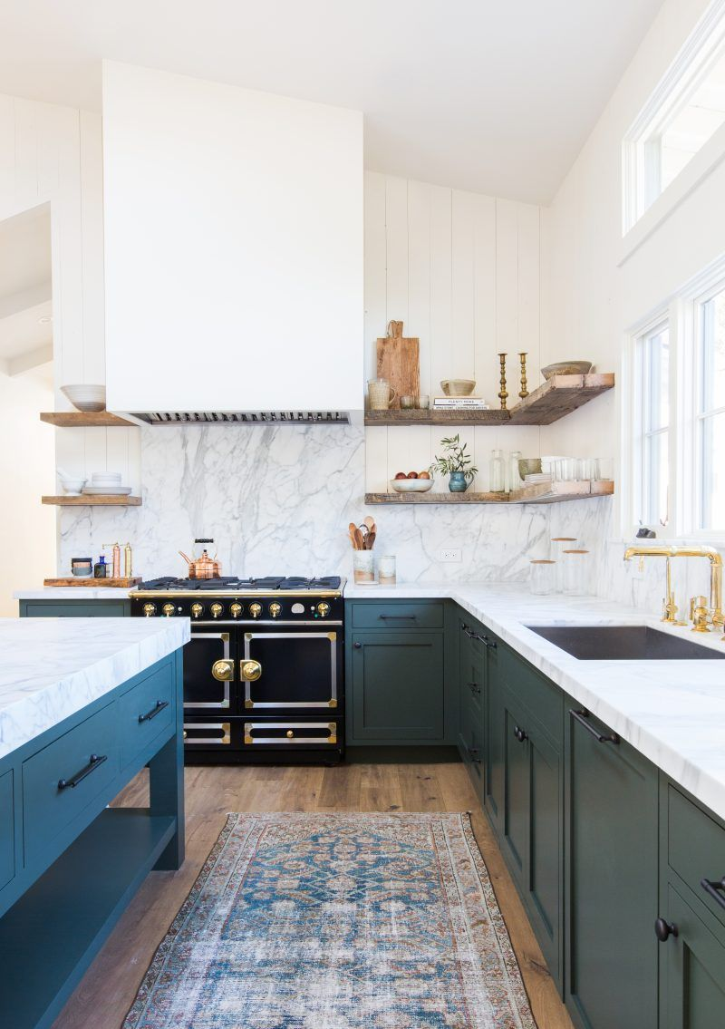 Kitchen Design And Tiles 15 Blue Kitchen Design Ideas Blue Kitchen Walls