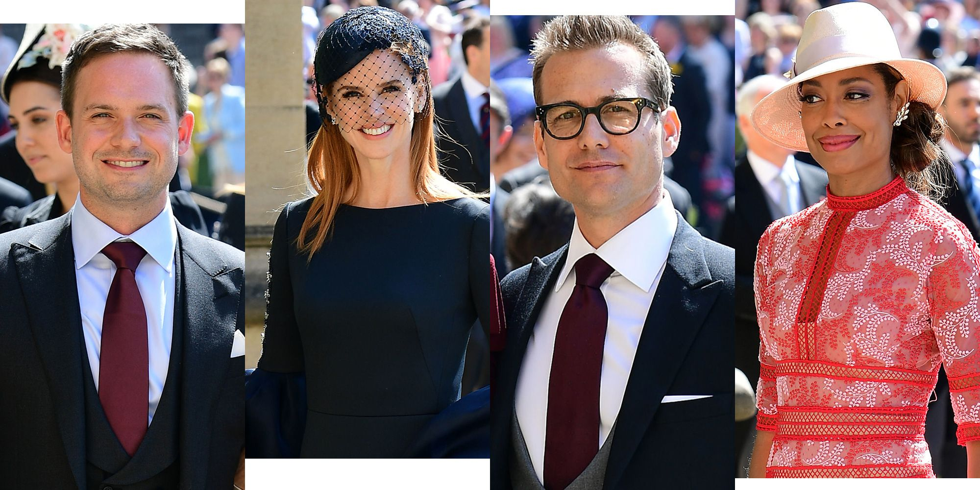 Suits Cast At Royal Wedding Which Suits Cast Members