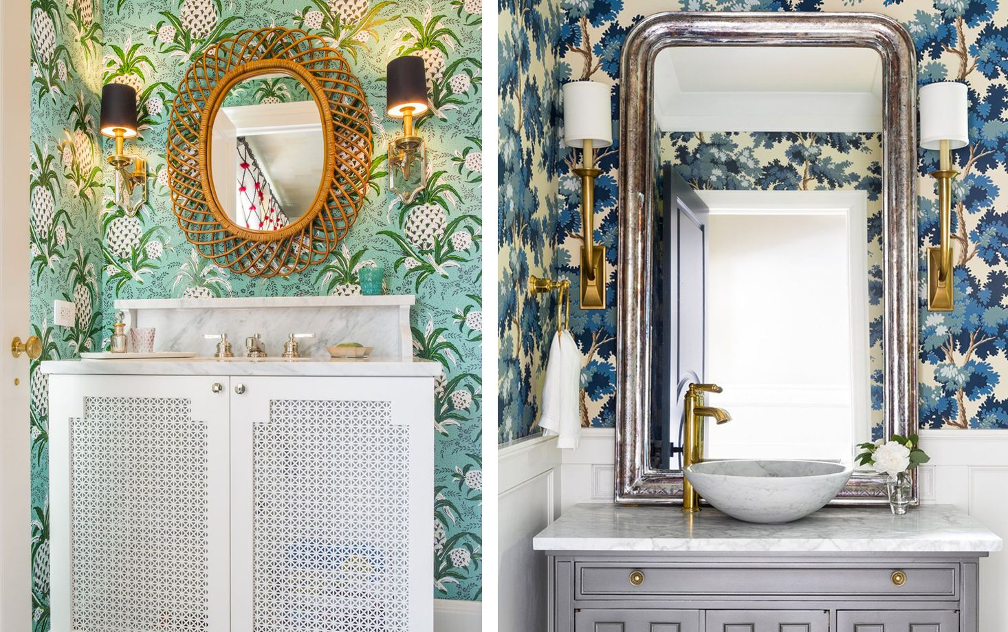 23 Whimsical Powder Rooms Powder Room Design Ideas