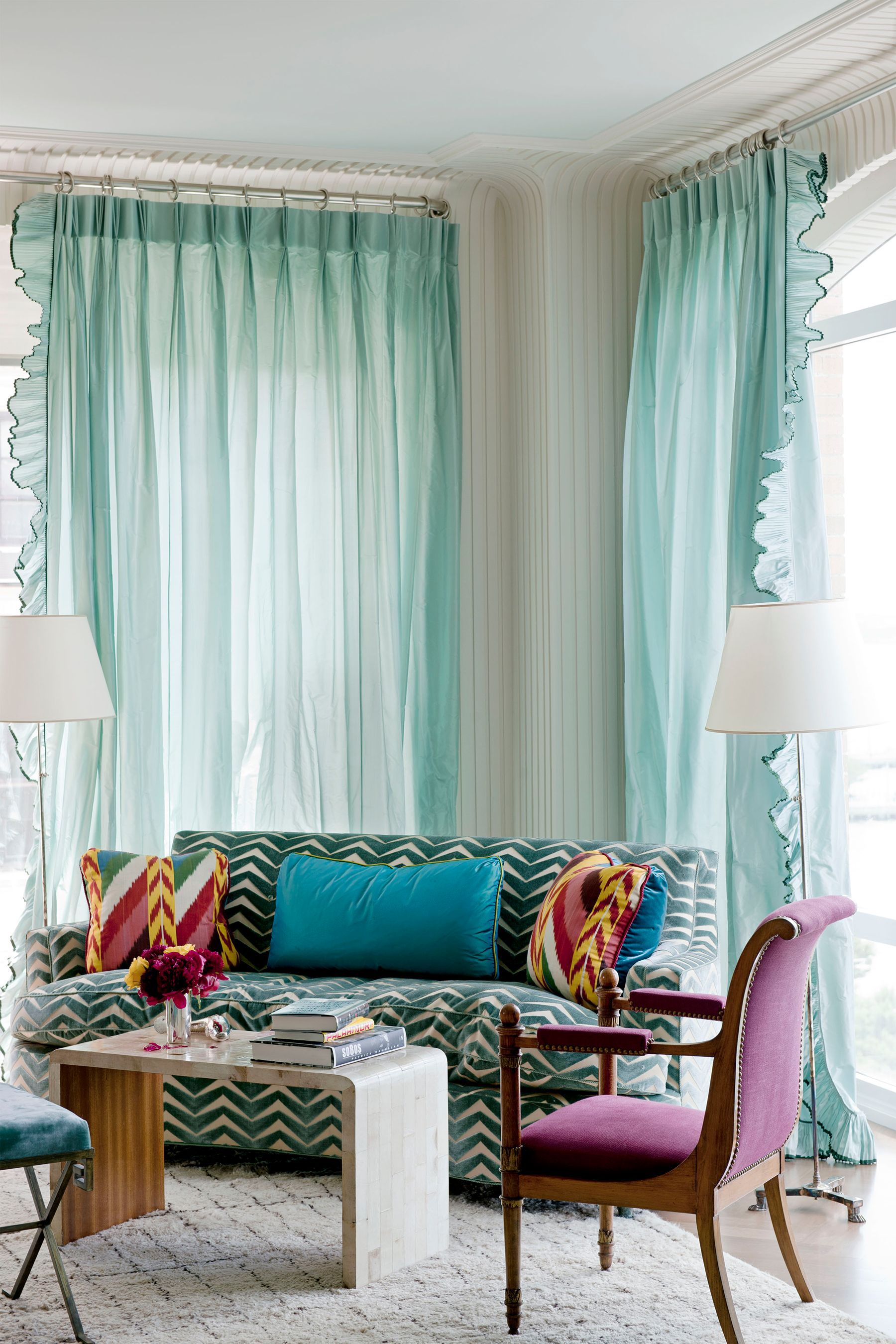 Curtains For Long Windows 35 Best Window Treatment Ideas Modern Window Coverings Curtains