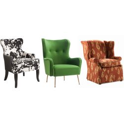 Small Crop Of Wing Back Chair