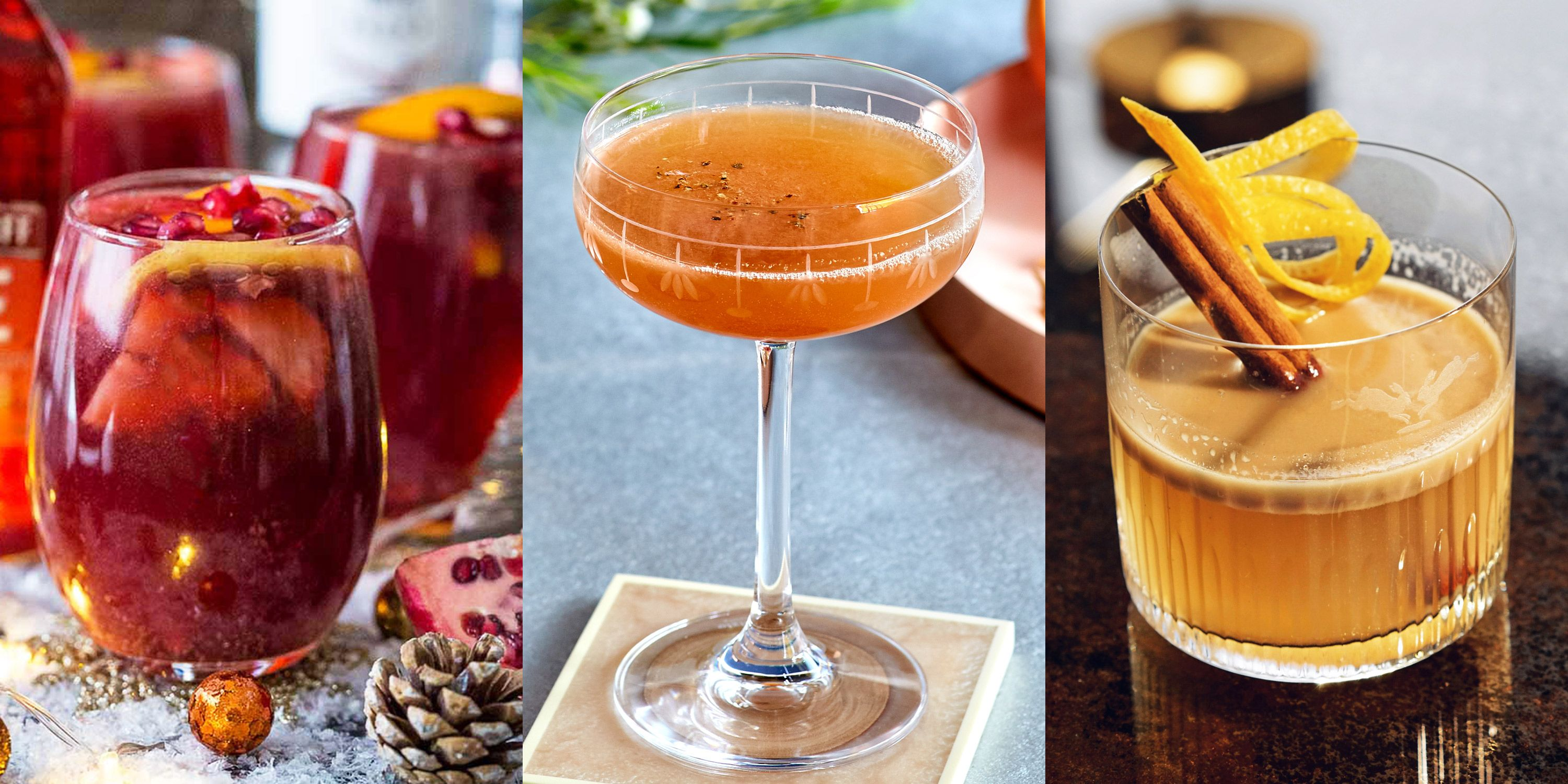 Cocktail Liste 12 Best Winter Cocktails Winter Cocktail Recipes For When It S