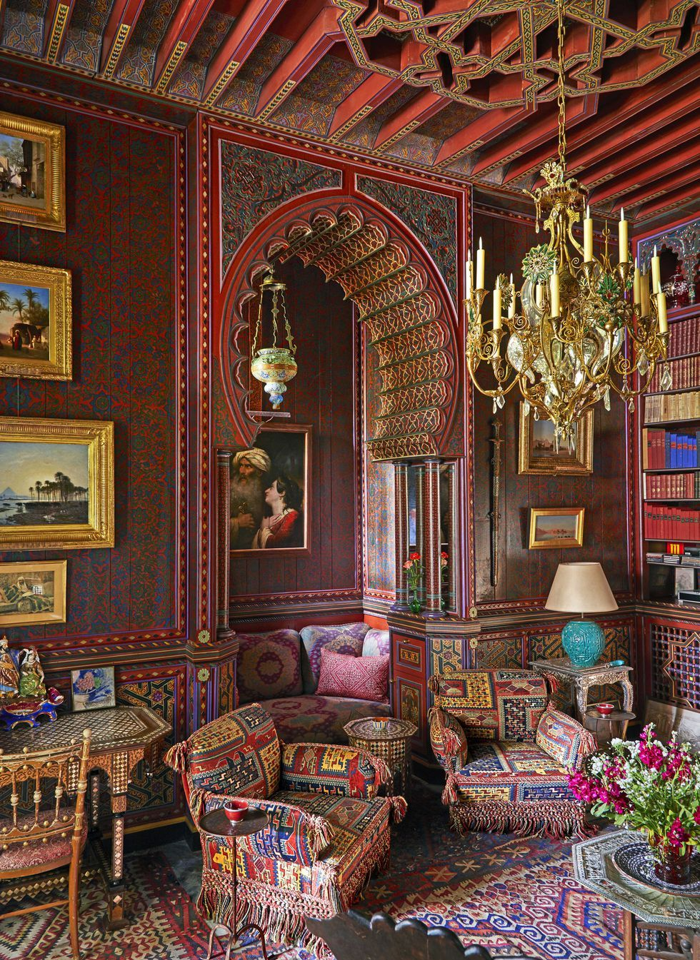 Salon Marrakech Inside Yves Saint Laurent S Home In Marrakesh Private Tour Of