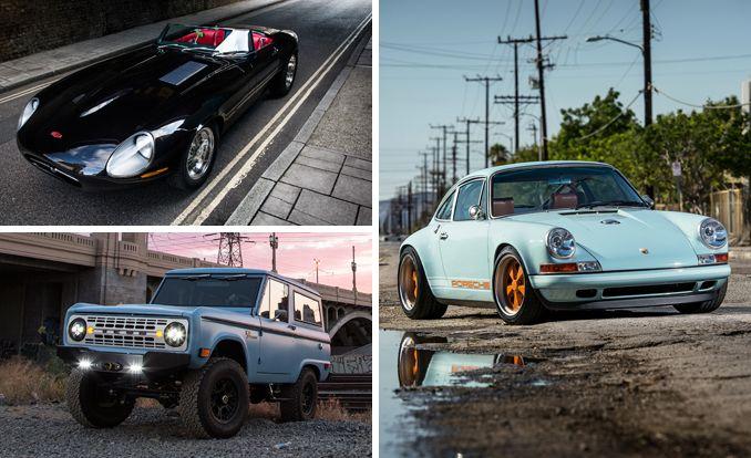 Driven Singer\u0027s Reimagined 911, Icon\u0027s Ford Bronco, Eagle\u0027s Jaguar
