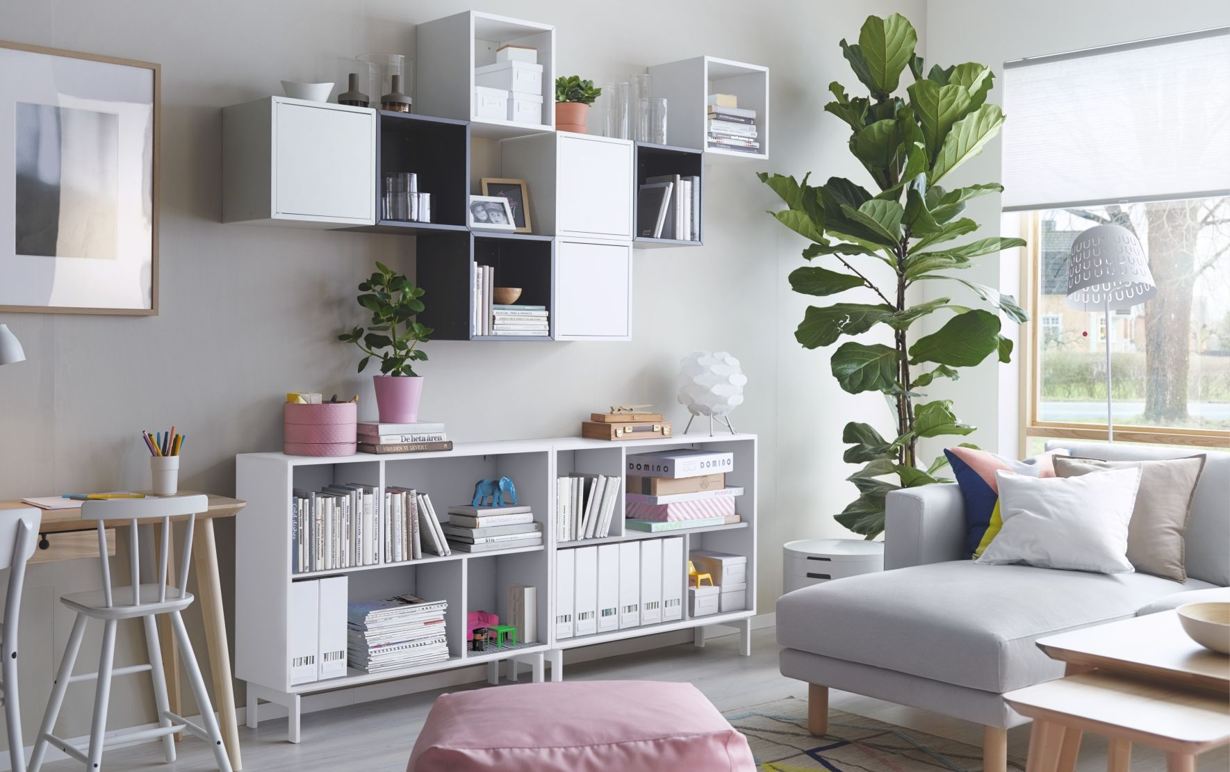 Living Room Spaces 8 Clever Small Room Storage Ideas Small Space Solutions