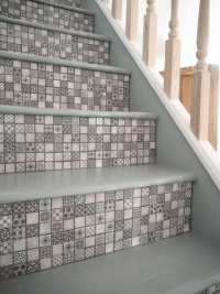 Tiled Staircase | Tile Design Ideas