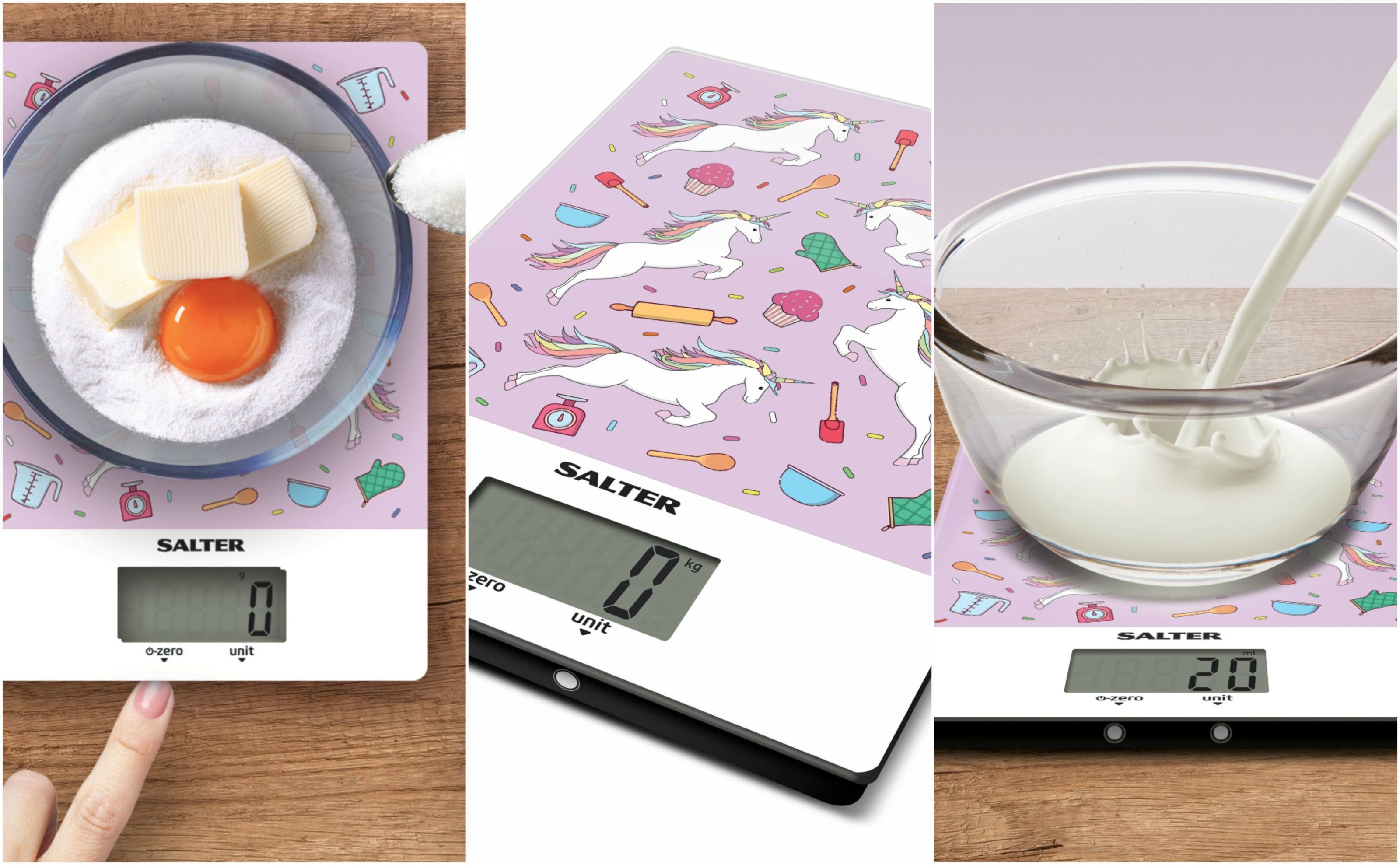 Salter Is Selling A Unicorn Print Digital Kitchen Scale