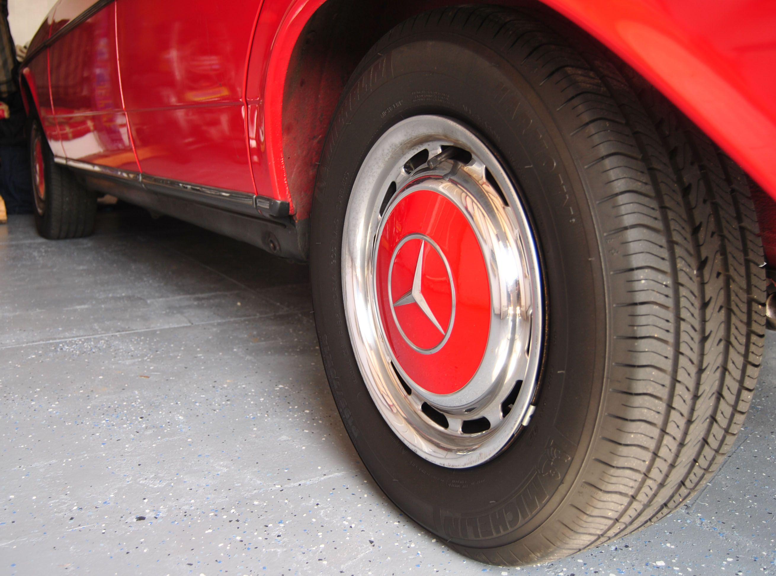Garage Floor Paint Hot Tire How And Why To Paint Your Garage Floor Epoxy Paint