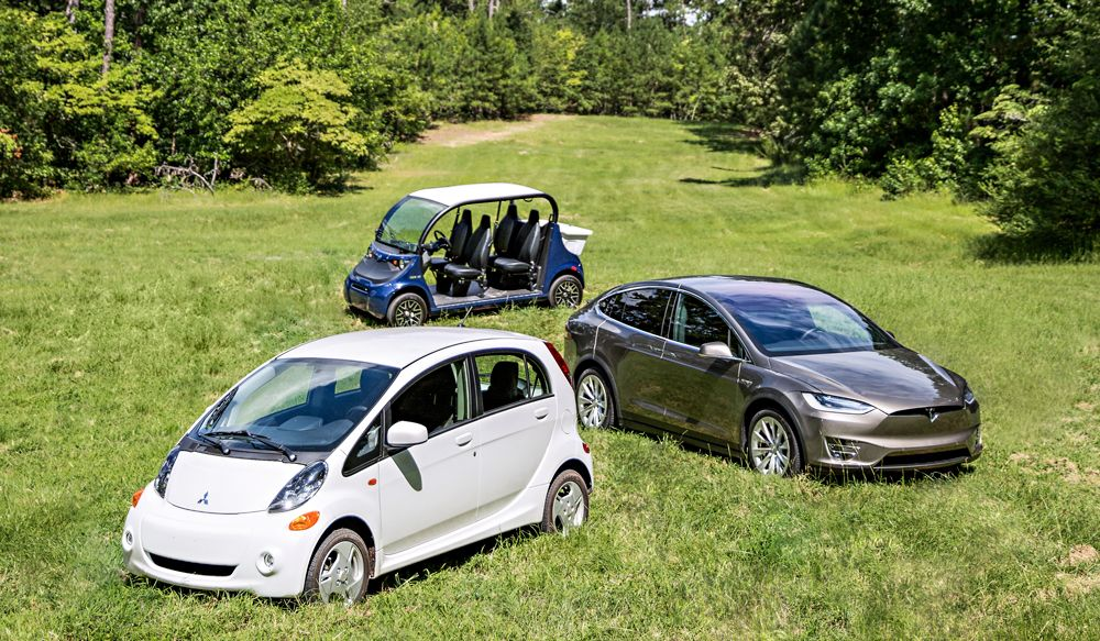 I Tried to Power Three Electric Vehicles With Solar Panels