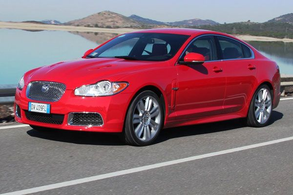 2010 Jaguar XFR Test Drive 510-hp Supercharged Monster Alongside