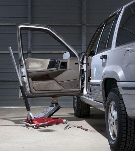 Car-Door Repair \u2013 How to Replace Car-Door Hinges