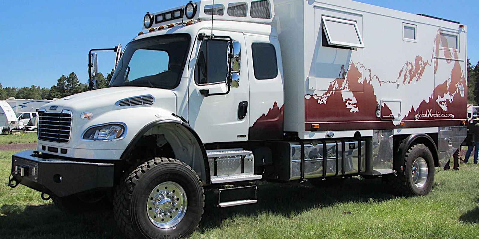 Half Fire Half Water Car Wallpapers 14 Extreme Campers Built For Off Roading