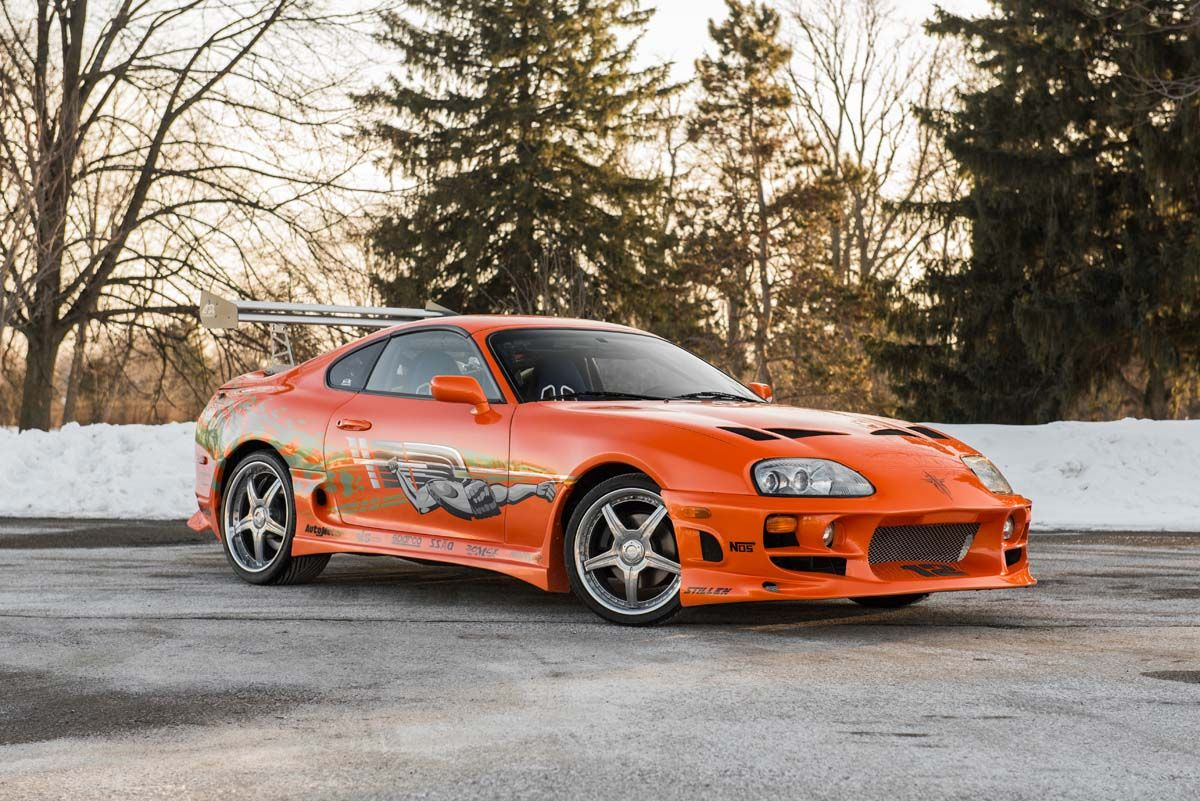 Toyota Supra From The Fast And The Furious Buy This Paul Walker Toyota Supra From