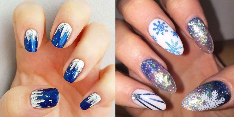 Icicle Nails Are The Coolest Nail Art Trend For Winter