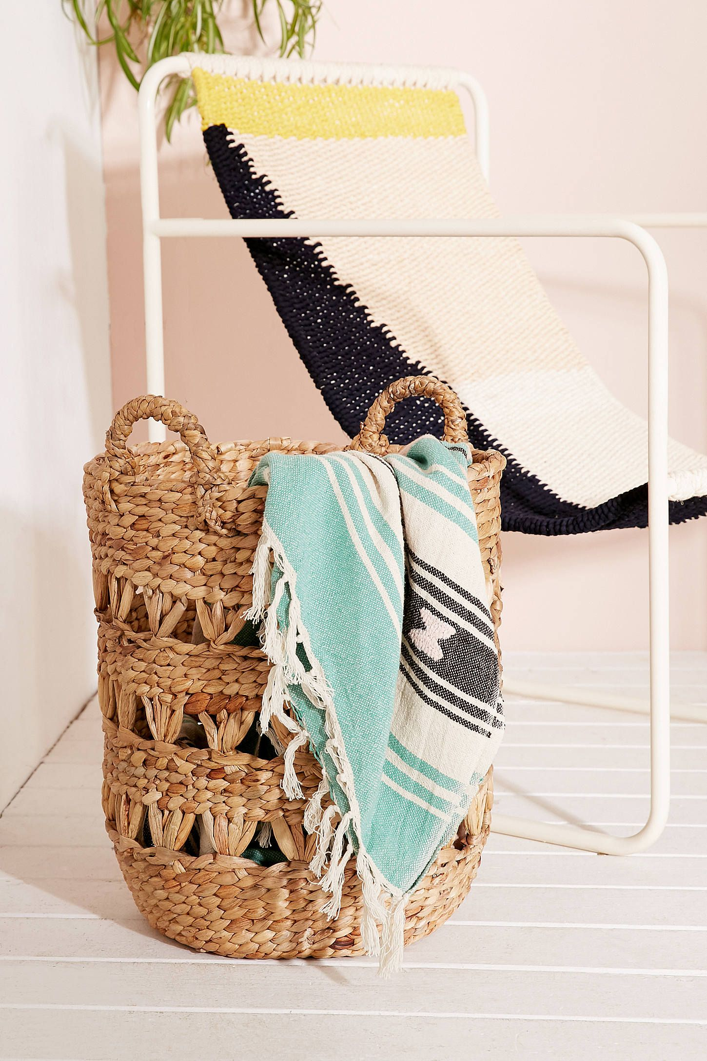 Cute Laundry Hamper Lucy Woven Laundry Basket