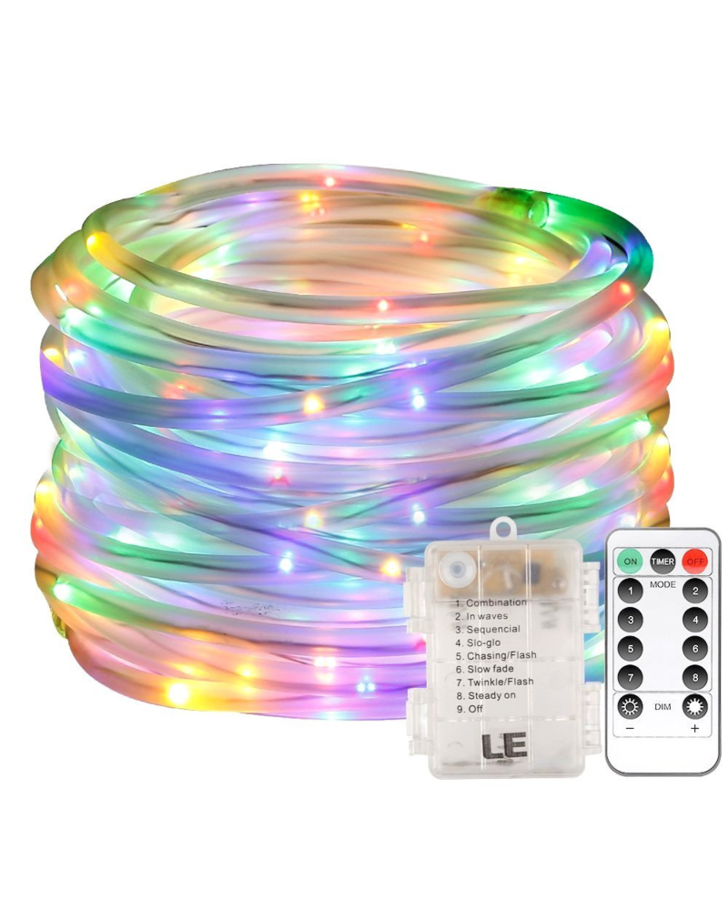 Outdoor Küche Amazon 33 Ft Dimmable Multi Colored Led Rope Light