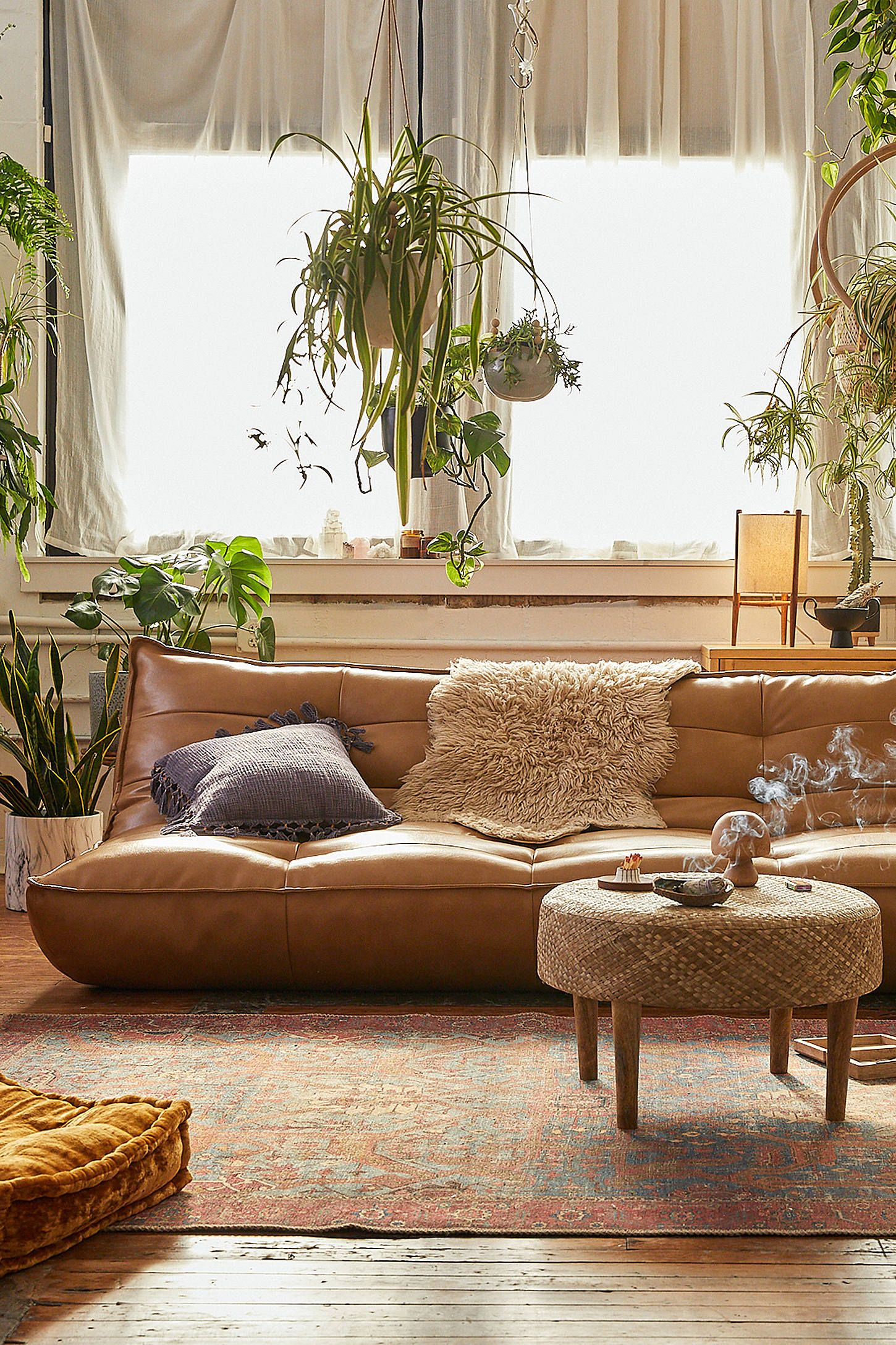 Types Of Sofa For Living Room Greta Recycled Leather Xl Sleeper Sofa