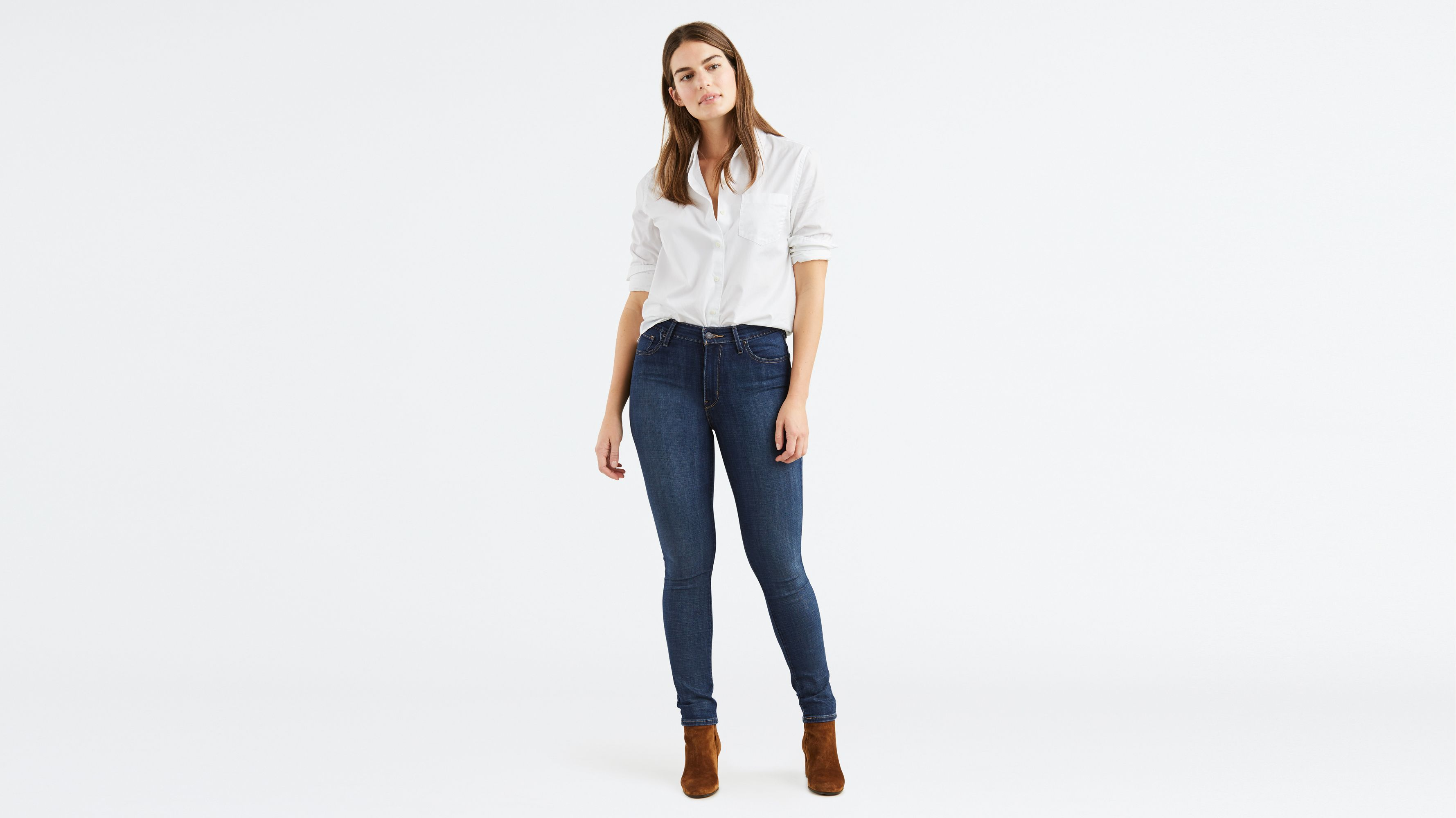 Casual Look Haare 721 High Rise Skinny Jeans