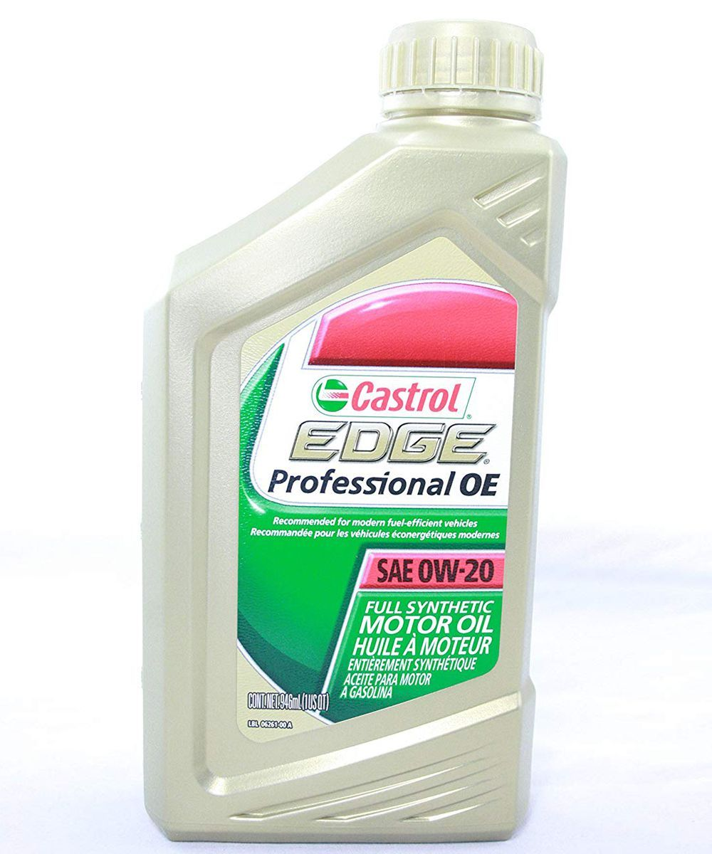Syn Oil Castrol Edge Professional Oe Full Synthetic 0w 20