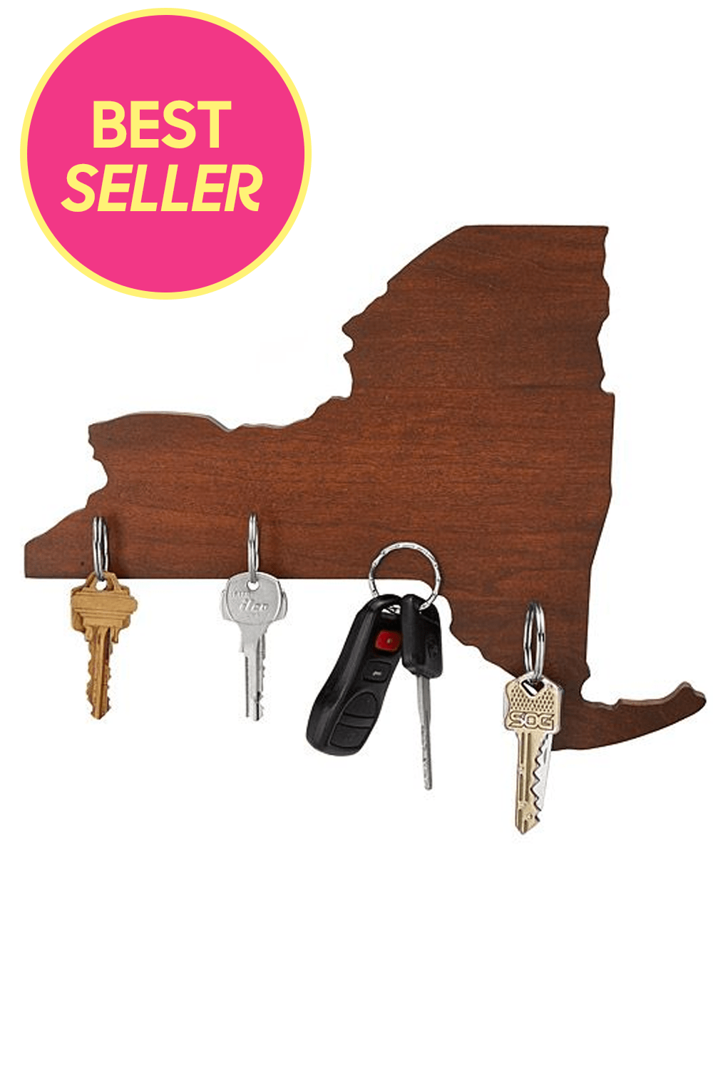 Best Gifts For New Homeowners Wooden States Of America Magnetic Key Holder