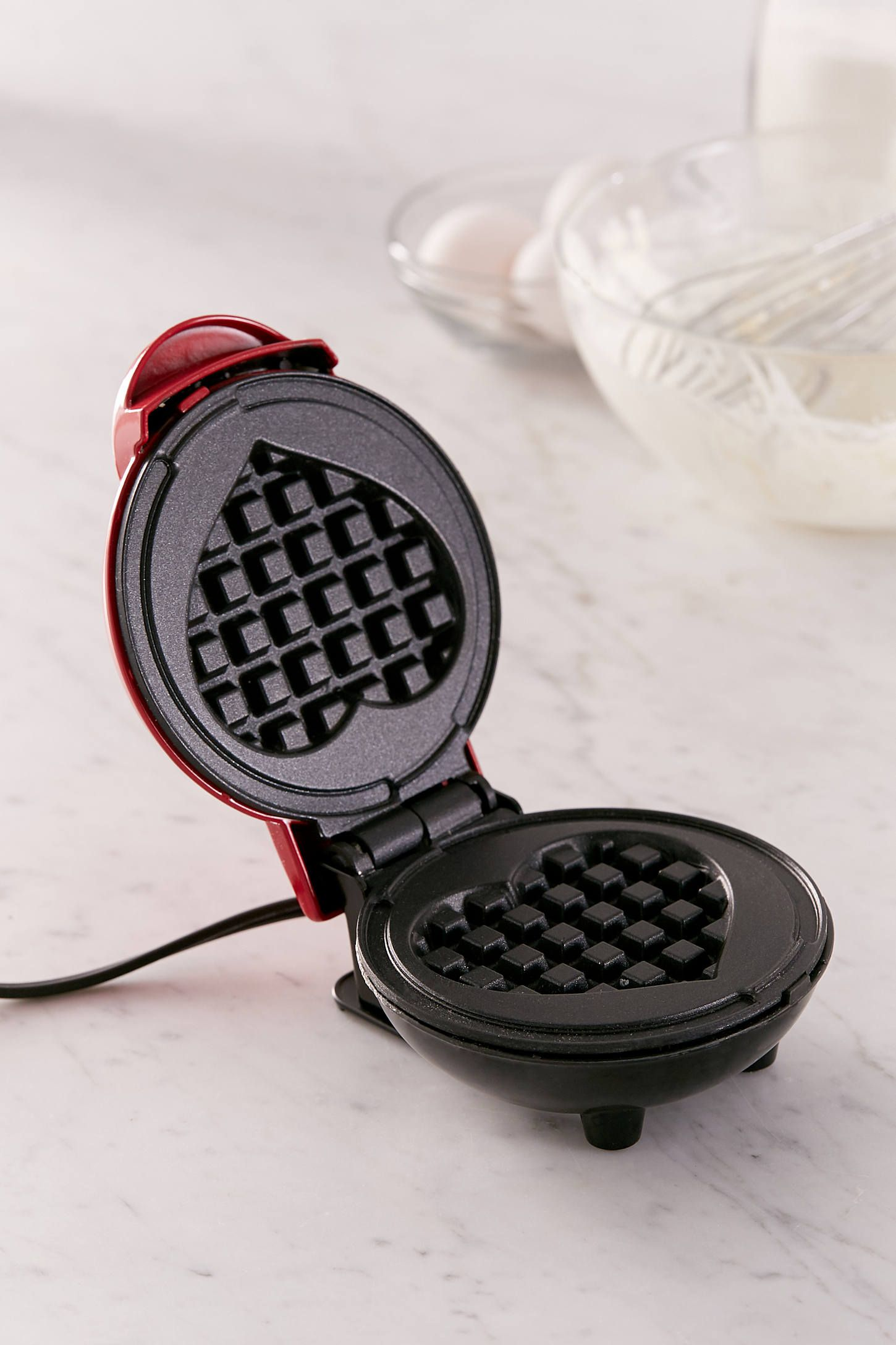 Amazon Cucinapro Heart Shaped Mini Waffle Maker