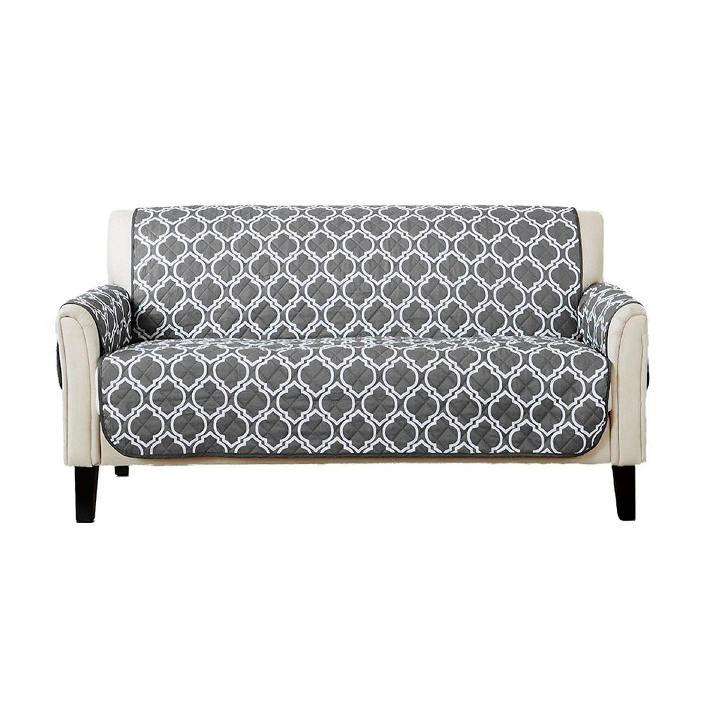Ready Made Sofa Covers Adalyn Collection Reversible Sofa Size Furniture Protector