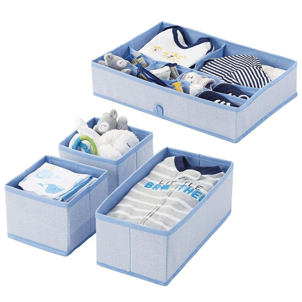 Storage Boxes Sydney Mdesign Fabric Drawer Organizer Set