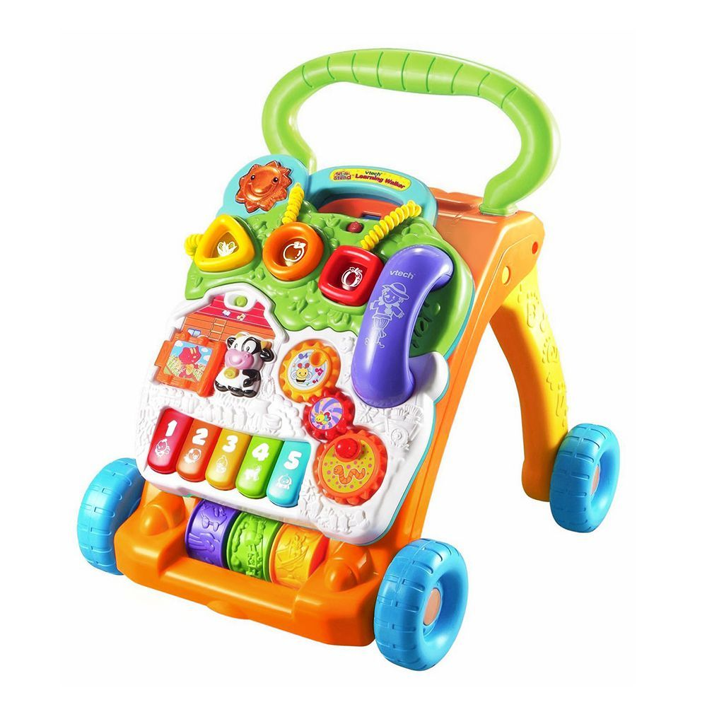 Babies Interactive Toys Vtech Sit To Stand Learning Walker