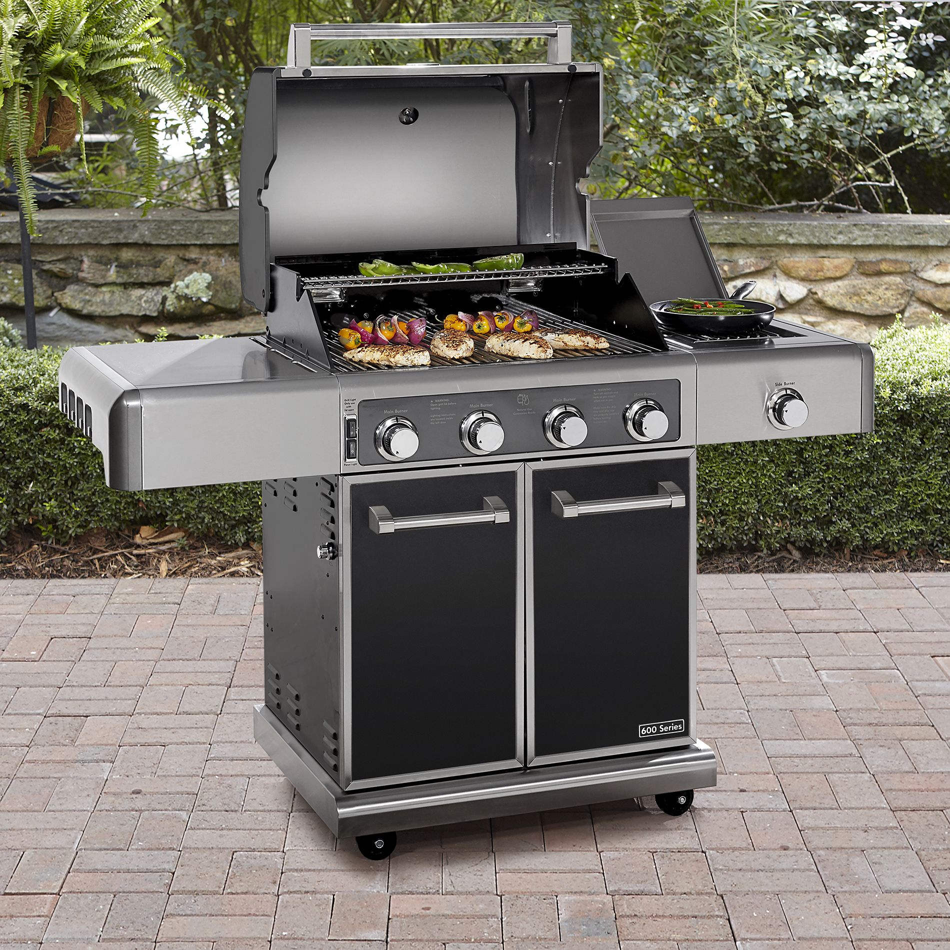 Outdoor Grill Kenmore Elite 600 Series Gas Grill