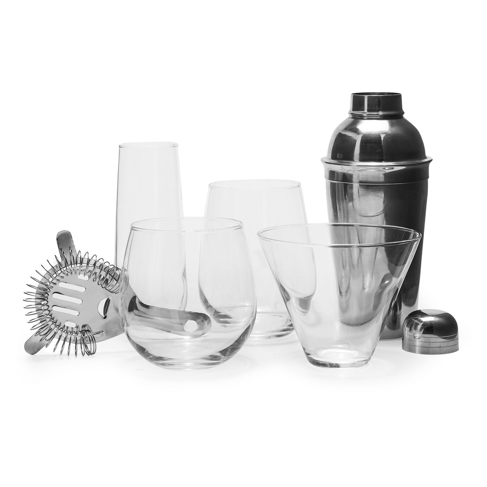 Housewarming Gifts For Young Couples Stemless Clear Glass Barware