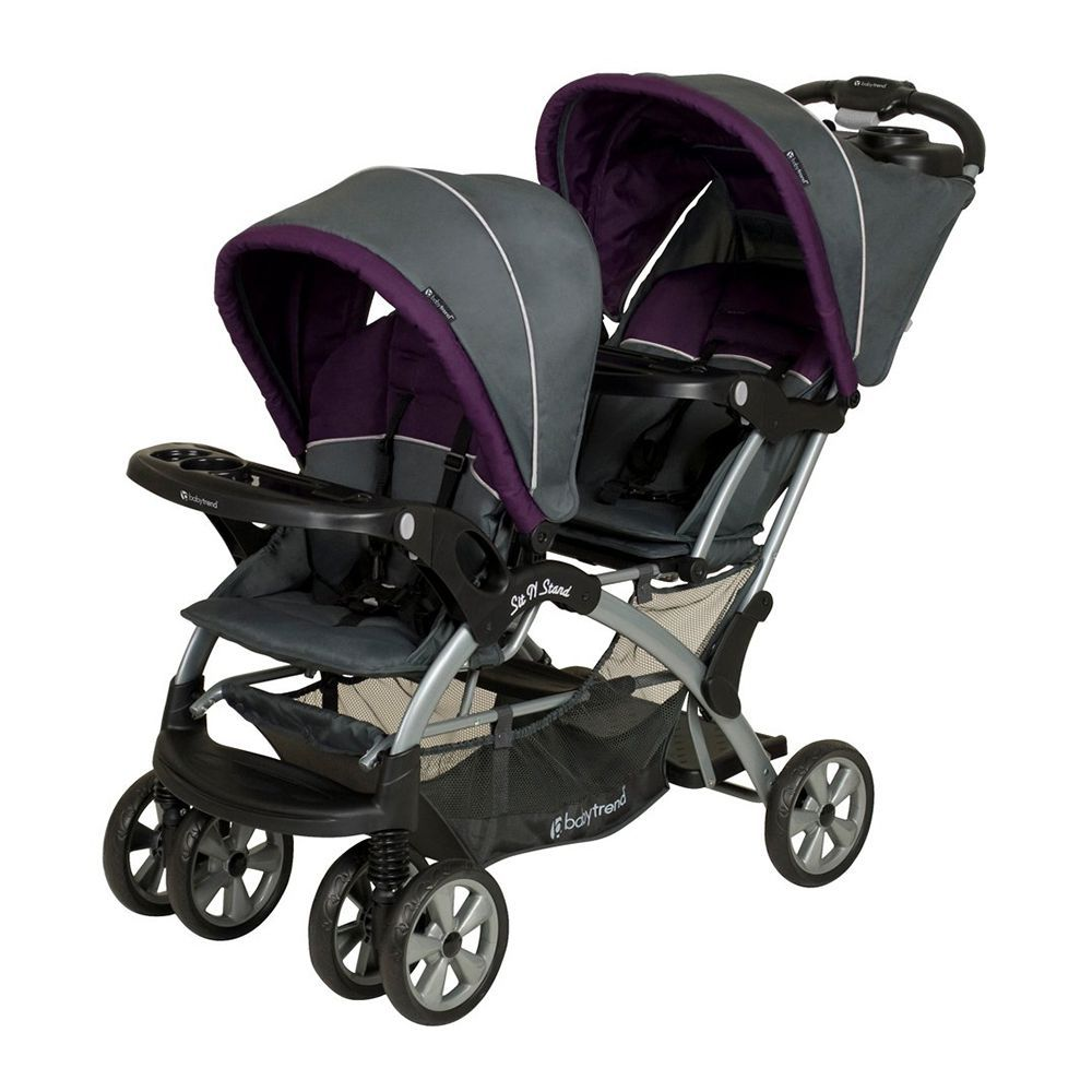Baby Plus Buggy Baby Trend Sit N Stand Double Stroller