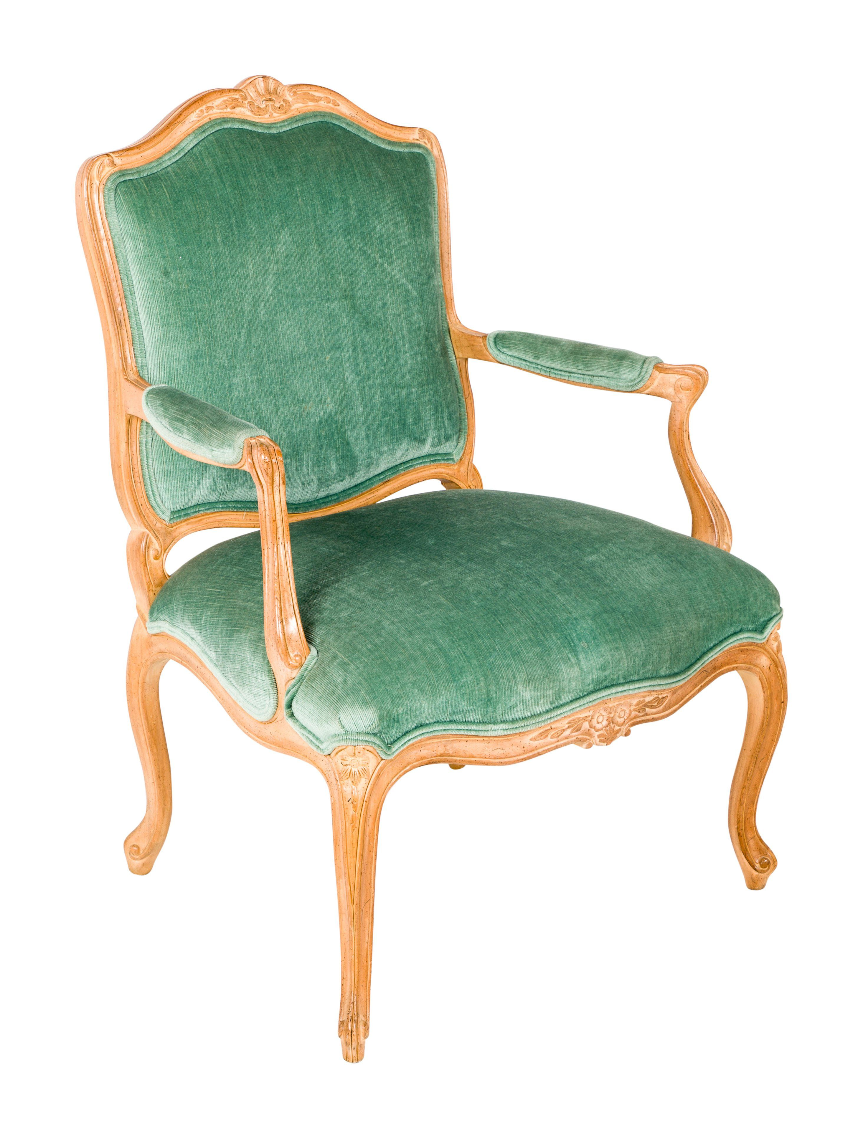 Fauteuils Tiffany Louis Xv Style Fauteuil