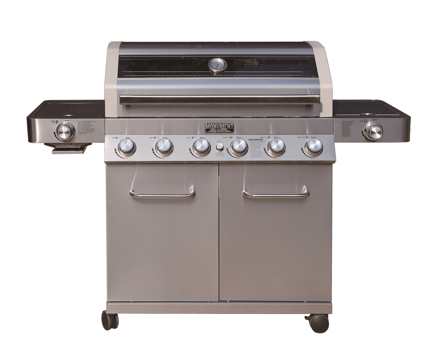 Outdoor Grill Monument Clearview 6 Burner