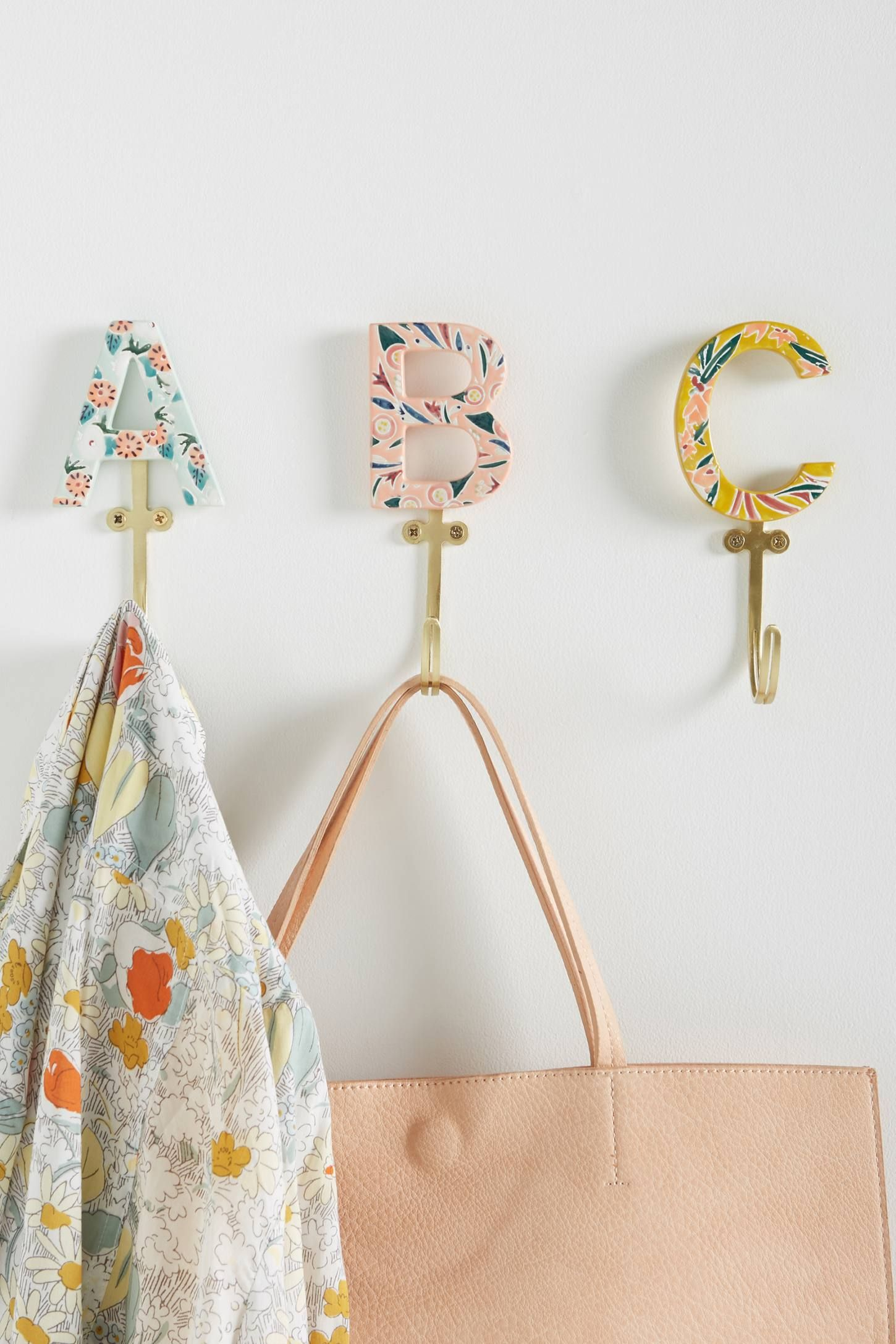 What To Buy For Housewarming Party Matilde Monogram Hook
