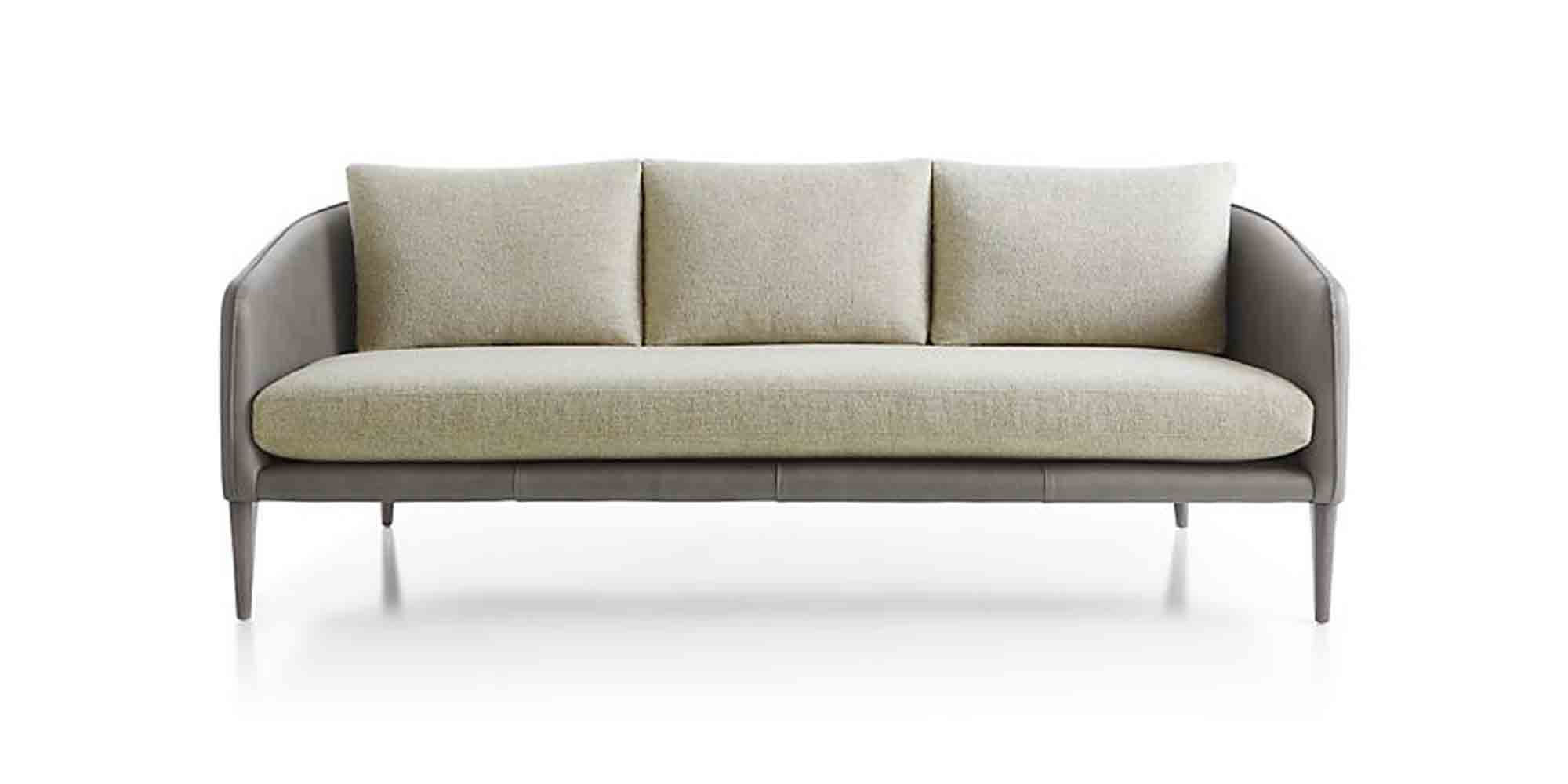 Couch Couch Rhys Leather Bench Seat Sofa