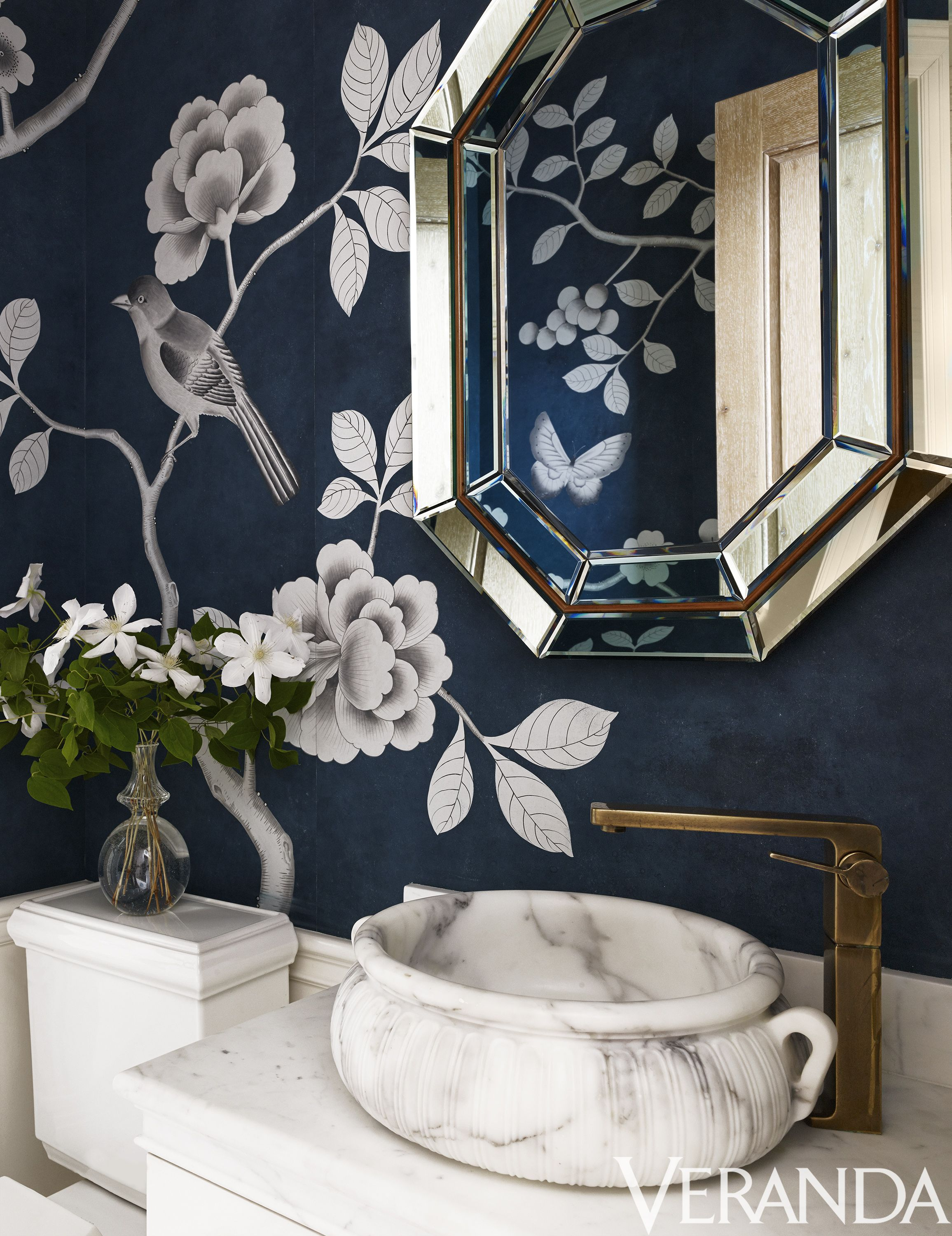 21 Powder Room Ideas Beautiful Powder Room Decor