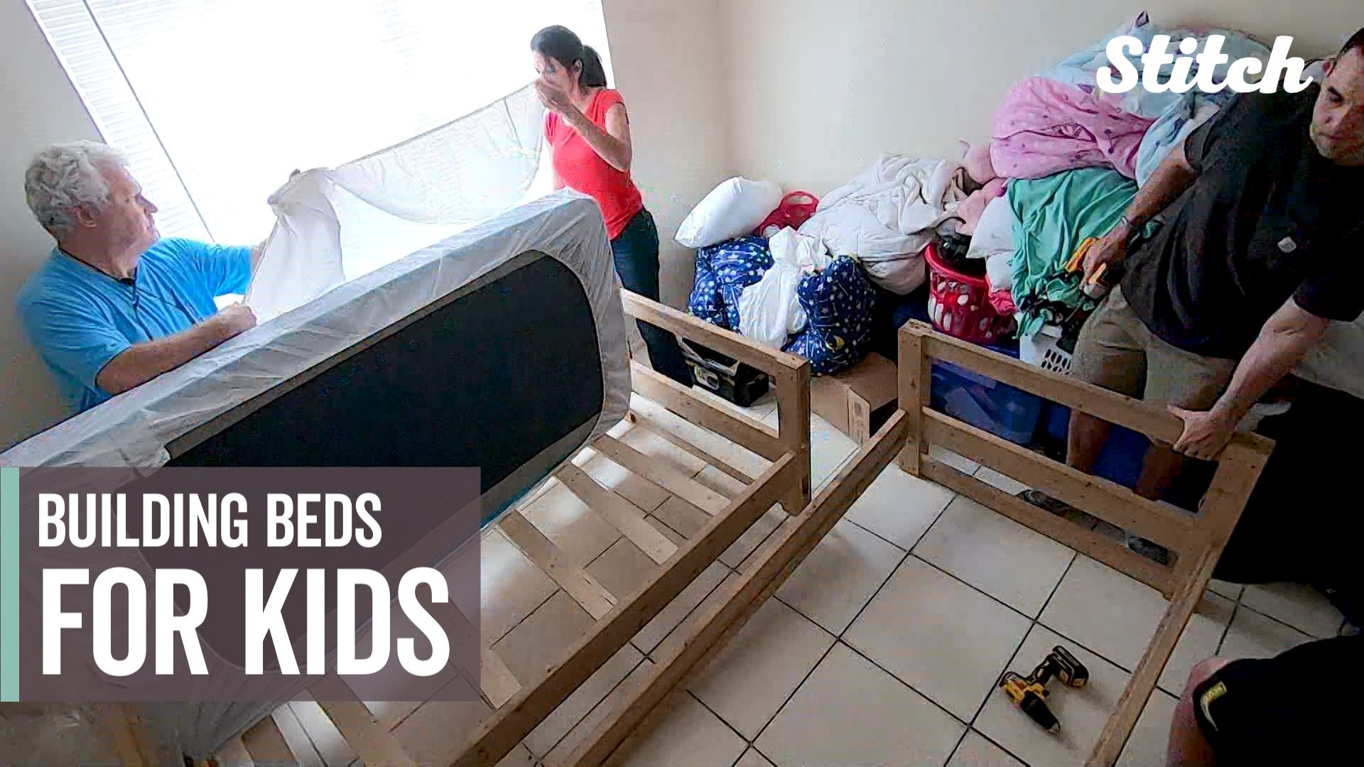 Organization Provides Builds Beds For Kids In Need