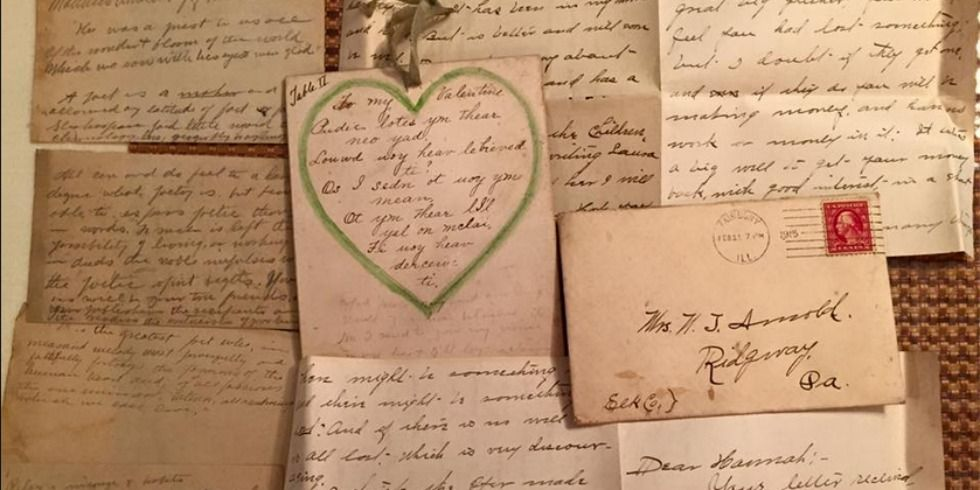 A Woman Found a Stash of 100-Year-Old Love Letters in the Ceiling of