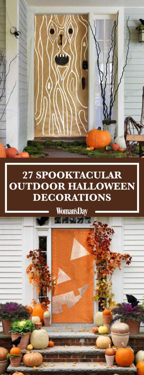 Medium Of Outdoor Halloween Decorations